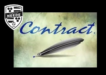 Trainers tekenen contract