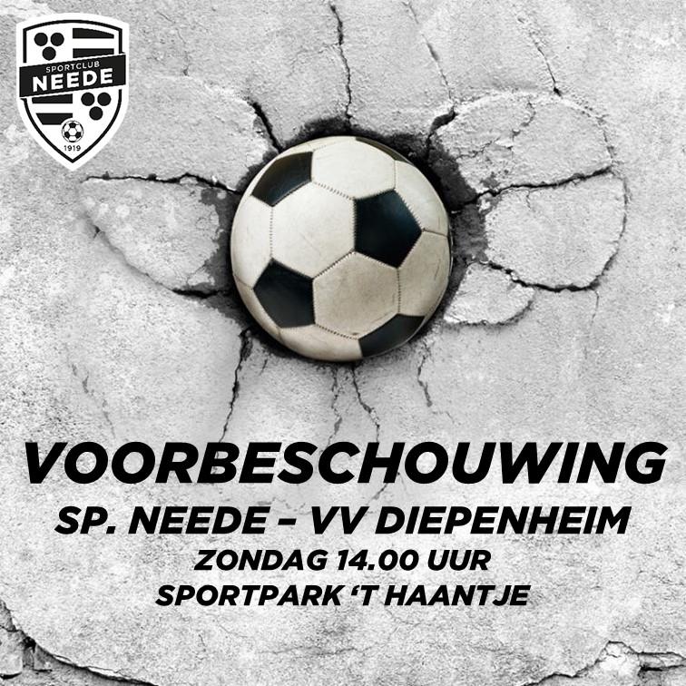 Voorbeschouwing Sp. Neede 1 - VV Diepenheim 1