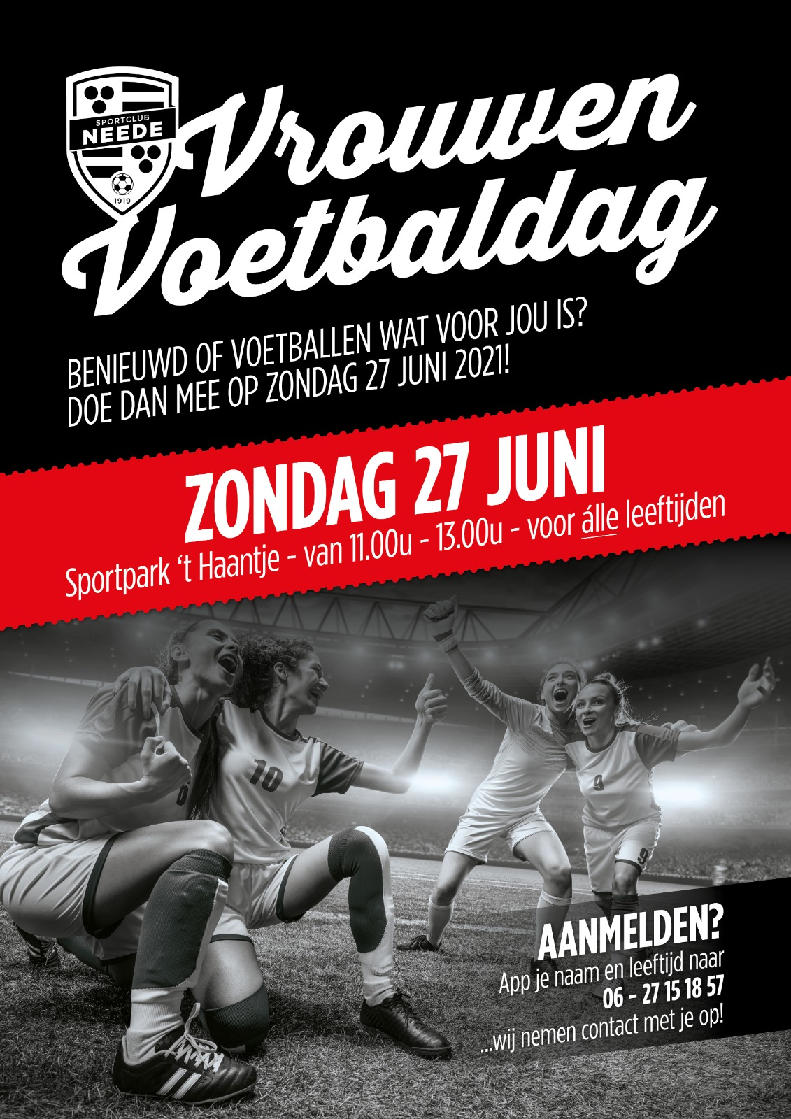 Vrouwen voetbaldag
